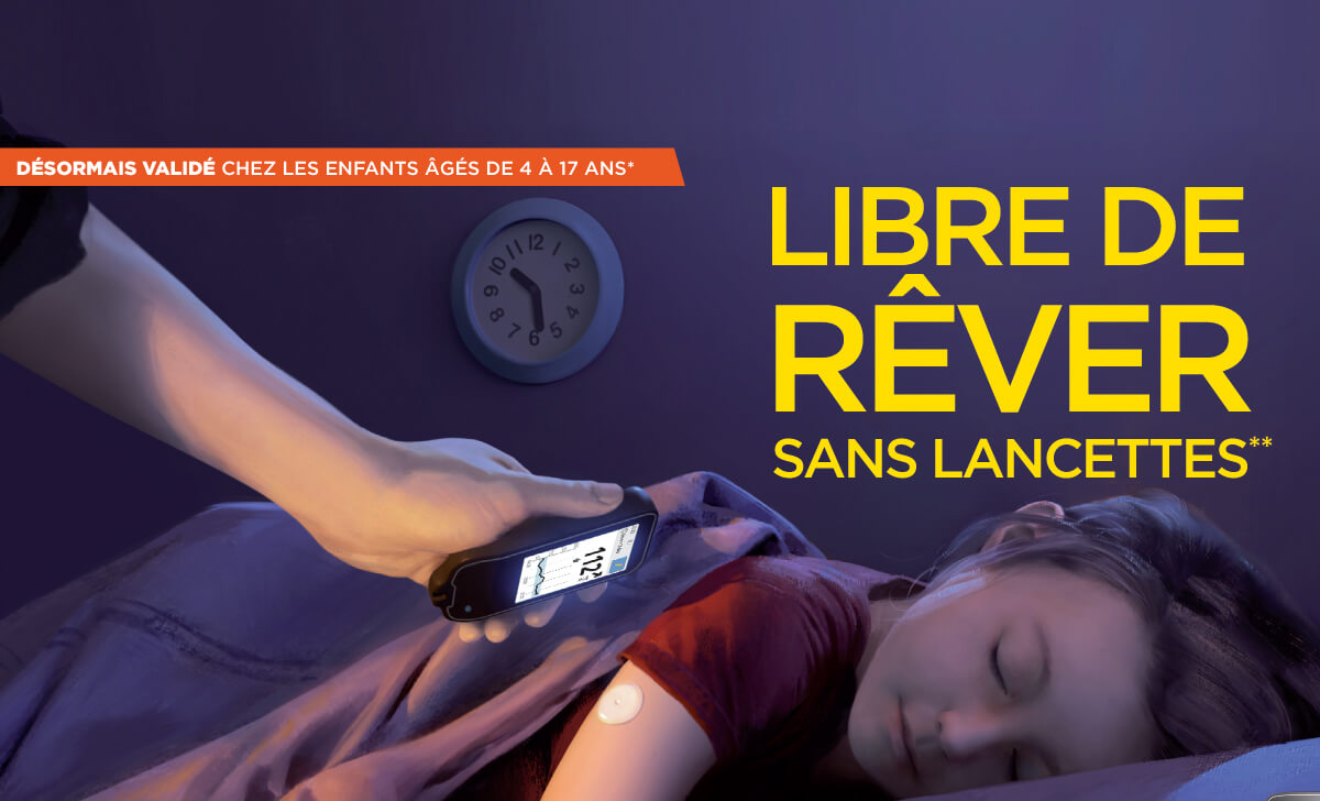 freestyle libre enfant
