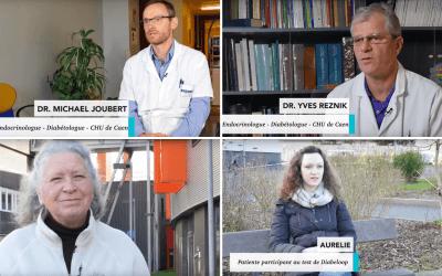 Témoignage des médecins et patients de Caen sur les essais cliniques de Diabeloop