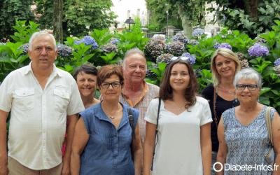 Olivia Dorato, Marraine de l'association Agir contre le Diabète