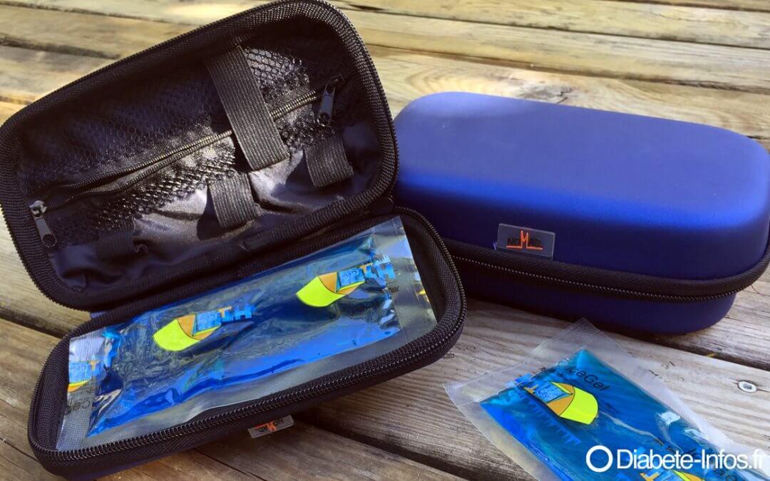 Glacières de voyage Nomad Cool Icebox pour transporter les insulines