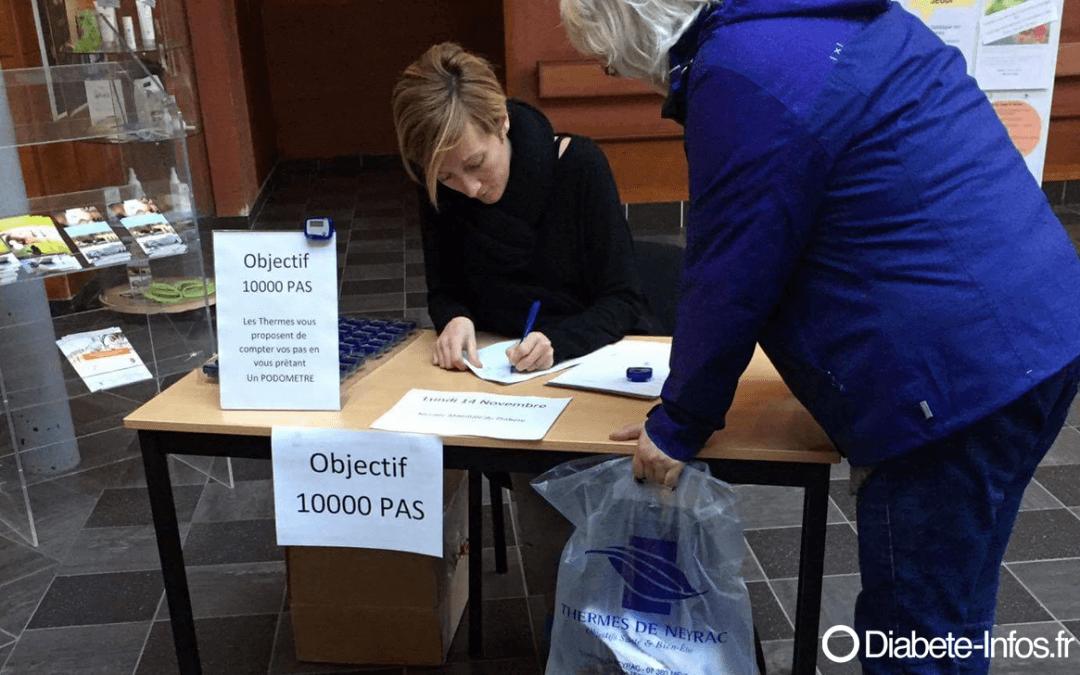 objectif 10 000 pas avec les Thermes de Vals-les-Bains