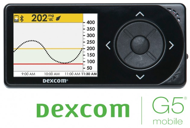 Kit Recepteur Dexcom G5 Mobile