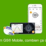 Dexcom G5® Mobile, combien ça coûte? Quel prix ?