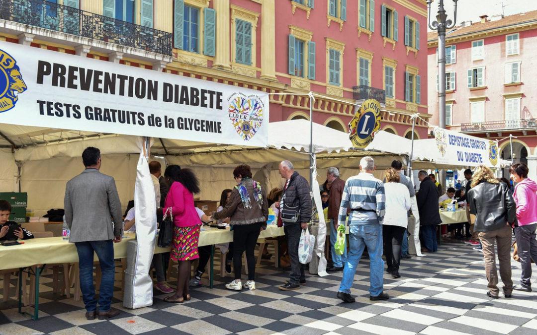 L'association L.I.D.E.R. Diabète organise les Journées Nationales de Dépistage du Diabète pour la 4ème année consécutive