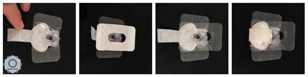 Positionner l'adhésif de protection méthode 2