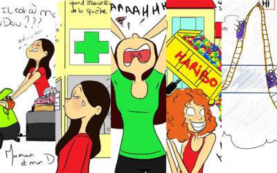 5 illustrations humoristiques pour parents d'enfants diabétiques – Partie 1