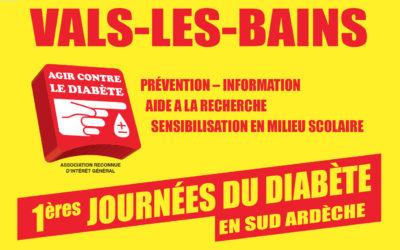 1ères journées du Diabète en Sud Ardèche