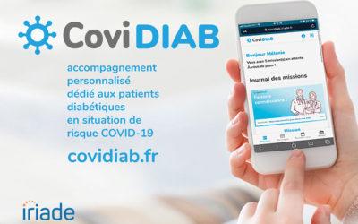 CoviDIAB : une application pour les diabétiques en période de COVID-19